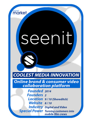 Seenit - Expert Market UK's Coolest Media Innovation