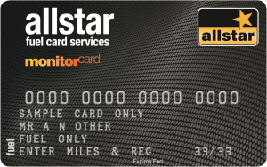 allstar fuel monitor card