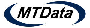 MTData taxi dispatch software logo