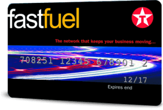 Texaco Tesco fuel card