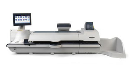 The Connect+ 200 franking machine by Pitney Bowes