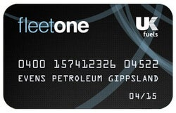 UK Fuels Fleetone fuel card