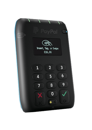 PayPal card machine for small businesses