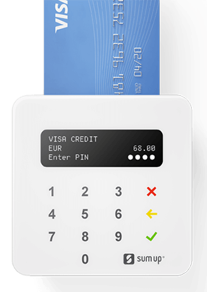 Sumup Air card machine for small businesses