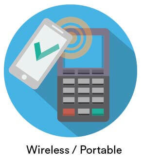 wireless card machines