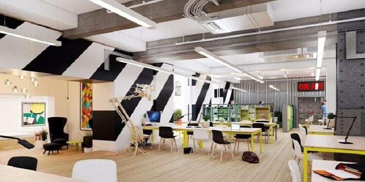 Huckletree shared office space in Shoreditch