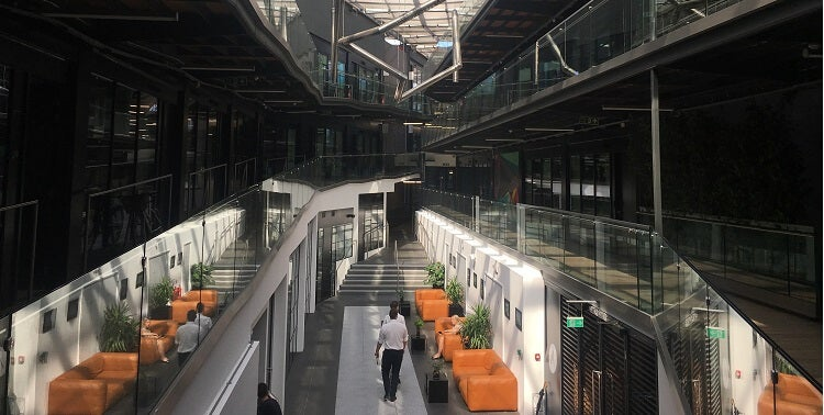 LABS shared office space The Atrium in Camden